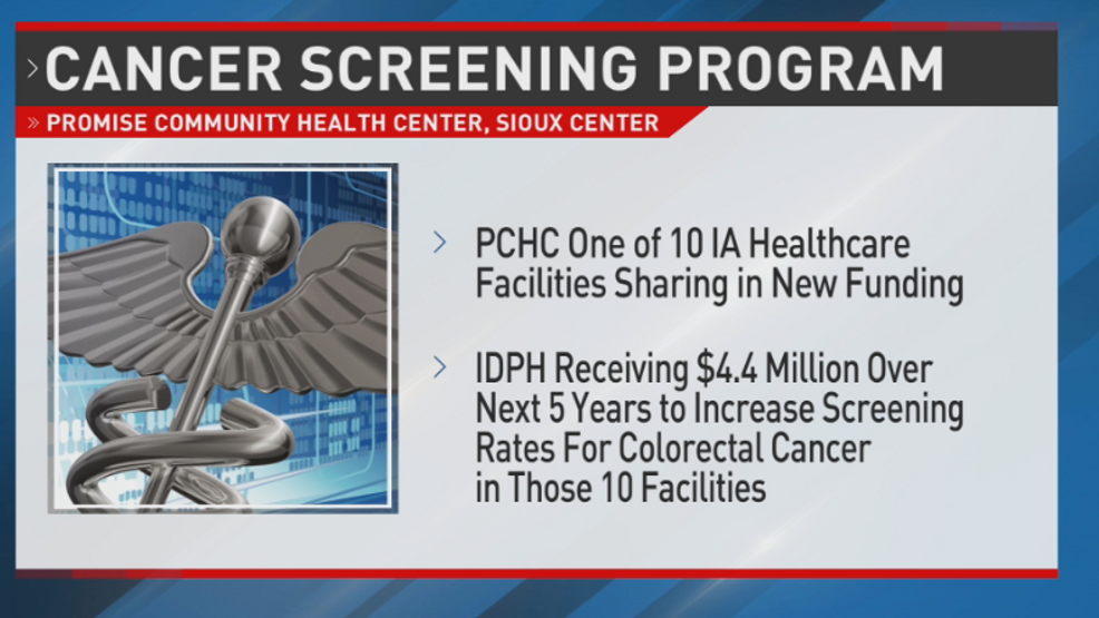 Nw Iowa Health Center To Increase Colorectal Cancer Screening Kmeg